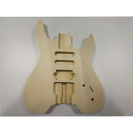 Wholesale Diy Electric Guitar - Unfinished DIY Electric Guitar Body Rosewood Body DIY Guitar Accesorries Gift