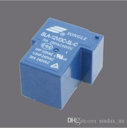 Wholesale High Voltage Power Module - Sindax DC 12V Relay Module SLA-12VDC-SL-C DC 12V Coil SPDT 6 Pin PCB General Purpose Power Relay 30A T90
