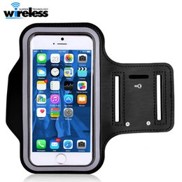 Wholesale Cells Cases - Water Resistant Cell Phone Armband case Sports Running Gym Case Waterproof Armband Holder For iphone x 8 samsung s9 s8