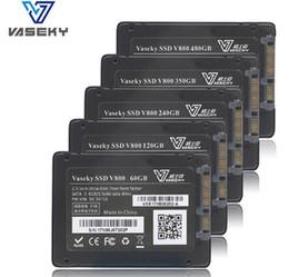 256G MLC SSD Dahili Sabit Disk V800 Solid State Sürücü 2.5 Masaüstü Dizüstü PC için SATA3 Rekabetçi nereden dahili yarıiletken sürücüler tedarikçiler