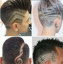 Peluquería talla magia aceite cabeza corte de pelo razor corte de pelo Afeitado / Brow cuchillos opp bolsa / con caja dhl envío gratis desde fabricantes