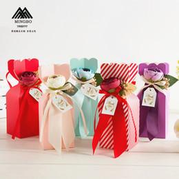 Forniture di nozze creative contenitori di caramelle vaso Prodotti per matrimoni europei confezione da sposa Scatole di caramelle cinesi 50PCS all'ingrosso Grande stile da