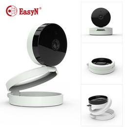"Wholesale Ir Cut Ip Cameras - EasyN Mini Camera 1 4"" CMOS IR Cut Indoor Night Vision Security Camera HD 720 R 1280x720 Two-way Audio WiFi IP"