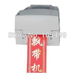 Wholesale Digital Printed Satin - Free shipping ADL-S108A Automatic digital printer Satin fabric printer Ribbon machine Digital printing machine