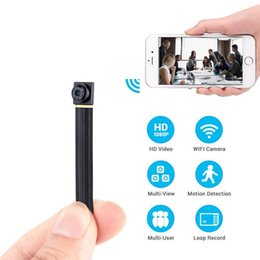 Wholesale phone recorder spy - Mini Super Small Portable Hidden Spy Camera P2P Wireless WiFi Digital Video Recorder for IOS iPhone Android Phone APP Remote View