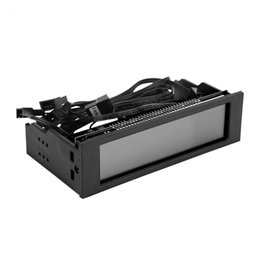 Wholesale Computer Fan Controllers - STW PC Computer CPU Cooling LCD Display Front Panel Temperature Controller Fan Speed Control for Desktop CPU Cooling Drive