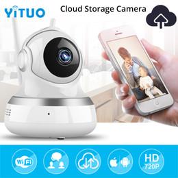 Tonerkennungskamera online-WIFI IP Kamera Drahtlose Überwachung Sicherheit Videokamera Cloud Storage Sound Bewegungserkennung Sensor Babyphone IR PTZ YITUO