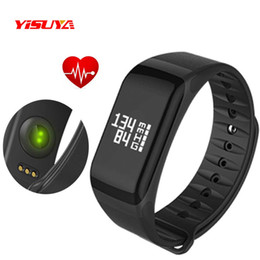 Relógio de pulso f1 on-line-Relógio dos homens Inteligente Pulseiras F1 Aptidão Digital Relógio De Pulso Pedômetro Pulseira Esportes Homens Inteligentes