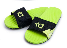 b2cf1603178e Brand Designer-mens sandals men KD Kevin Durant sandals man Sandalias de  hombre Beach casual Swim wear shoe