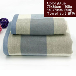 Wholesale Quality Kitchen Towels - Gauze Cotton Body Hand Face Bath Towel Sets Sport Kitchen Towel Adult Swimming Towels Luxury Gift Quality Home Textile