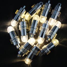 100x lampadine a LED per feste a palloncini per palloncini Lanterna di carta Decorazione per feste, impermeabile - Bianco Rosso Verde Giallo Bule da
