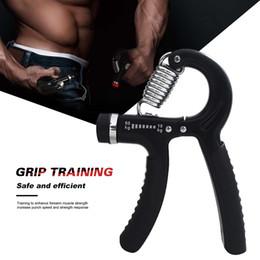 Tipos de ferramentas elétricas on-line-10-60Kg Tipo-A Ajustável Apertos Pesados Mão Exercitador De Fitness Gripper Exercitador de Força de Pulso Mão Gripper Gym Poder Ferramenta de Fitness