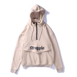 Wholesale vintage hooded sweatshirts - Vintage Hoodie Thickening Sweatshirt Men Hip Hop Clothes Mens Turtleneck Sweatshirts Hoodies Casual Hooded 2018
