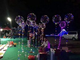 Wholesale Wedding Balloons For Kids - 18 inch Latex Glow In The Dark Sky Lanterns Flash Illuminated LED Balloon for Marriage Wedding Kids Birthday Party Decor Ballon