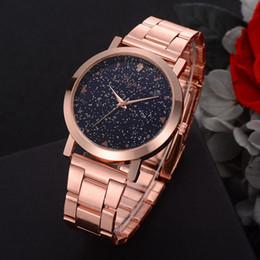 Marcas de relojes de señoras baratas online-2018 Nuevas Mujeres Relojes de Vestir de Oro Rosa de Acero Inoxidable Lvpai Marca Ladies Ladies Reloj de Pulsera Reloj de Cuarzo Creativo Relojes de Lujo Baratos