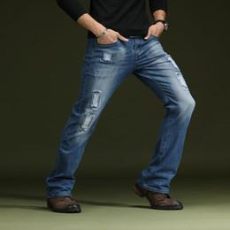 jeans évasé sur déchiré la bleu bleu Jeans évasés bootcut homme évasés homme 2018 jeans pour xYZwqpdYT