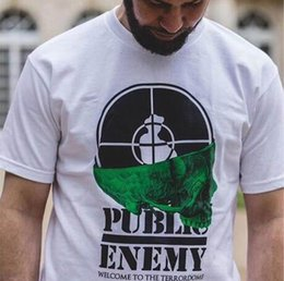 Wholesale Black House Letters - 18SS Sup Undercover Public Enemy White House Tee T-shirt Short Sleeve