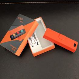 Nueva llegada COCO SMOKING Vape Pen Starter Vapor Kit 280mah capacidad Vapor Pod Cartridge Vaporizador Vape Kits con Paquete de Regalo 0209684 desde fabricantes