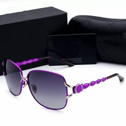 Wholesale Black Resin Spikes - Hot Sale Popular Brand Designer Sunglasses For Women Casual Driving Outdoor Fashion Sun Glasses Spike Ladies 5 Colors Big Frame Sunglasses