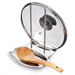 Pot couvercle étagère en acier inoxydable facile à placer cuisson bac de stockage grille porte-éponge cuillère porte dis rack cuisine stockage ? partir de fabricateur