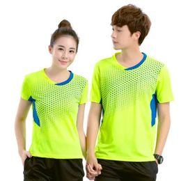 Jersey de los hombres de china online-CHINA camisa de bádminton hombres / mujeres, camiseta de bádminton, deportes camiseta de tenis ropa de bádminton transpirable poliéster, tenis de mesa pantalones cortos de jersey