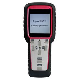 Programador de hodômetro honda on-line-Nova Geração Super SBB2 Programador Chave com Multifunções IMMO Odômetro Ajuste do Óleo Reset TPMS EPS Handheld Scanner