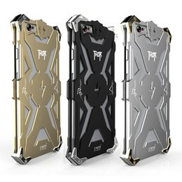 Wholesale Iphone 5s Case Cool - Zimon Thor Metal Case For Iphone 7 Case Luxury 6 6s 5s Se Case Cool Fashion Cover Iron Man Aluminum Tough Heavy Dust Armor