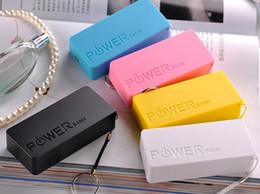 Цены на телефонные боксы онлайн-5600mAh 18650 USB Power Bank зарядное устройство чехол DIY Box для iPhone Sumsang смартфон мобильный телефон заводская цена Box сотовый телефон Power Banks