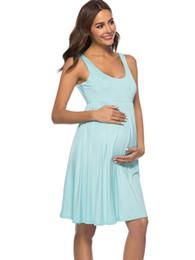 NUOVO incinta abito elegantHigh con o senza cappuccio maternità senza maniche Abito da donna di grandi dimensioni Abiti casual Abito lungo da
