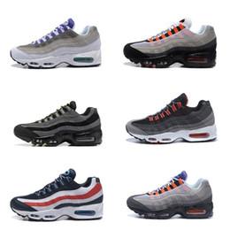 Alta calidad 95 zapatos estilo negro gris azul rojo hombres zapatillas de deporte del amortiguador botines Maxes Hight Top impermeable botas de trabajo zapatos envío gratis desde fabricantes
