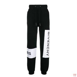 Pantalon pour hommes en Ligne-Mode Hommes Designer Pantalon Marque Pantalon De Jogger Top Qualité Casual Pantalon De Piste Côté Lettre Cordon Pantalon Hommes Marque Sport Pantalons de Jogging