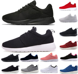 ccf8efec03 nike air roshe run one Venda quente tanjun homens mulheres running shoes  londres 3.0 1.0 triplo preto branco azul vermelho olímpico dos homens  formadores ...