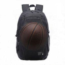 342135104b3 Sport Backpack Men Laptop Backpack School Bag For Teenager Boys Soccer Ball  Pack Bag Gym Bags Male With Football Basketball Net