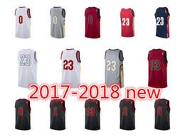 Wholesale Uniform City - Mens basketball jerseys JaMeS Cleveland 23 cAvS Clarkson jerseys HWC LeBron classic Love retro SW authentic uniform KEVIN city edition
