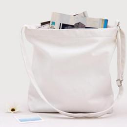 2019 artes do logotipo Bolsa de Ombro de Lona Original Literatura e Arte Modelo Sling Bag Saco Em Branco Personalizar Logotipo 30 pcs desconto artes do logotipo