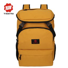 рюкзак для ноутбука tigernu Скидка Tigernu Design Large Capacity Men Backpack Female  Summer Backpack Male Canvas College Laptop for women