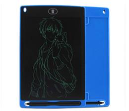 2019 lojas grossistas de alimentos SZQY LCD Escrita Tablet Digital Digital Portátil 8.0 Polegadas Desenho Tablet Caligrafia Pads Tablet Placa Eletrônica para Adultos Crianças Crianças