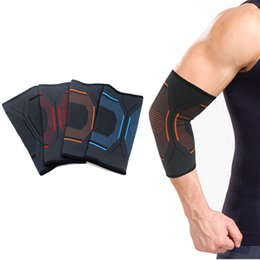 60cd30cf49 elbow support sleeve Australia - Sports Safety Nylon Elastic Elbow Knee Brace  Sleeve Elbow Pads Guard