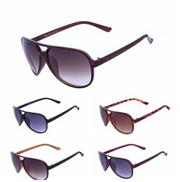 Wholesale wayfarer sunglasses blue - 2018 New Wayfarers Sunglasses RAY Men Women 52mm Brand Cat Eye Sun Glasses Bands BEN Mirror Gafas de sol BANS 207 with cases