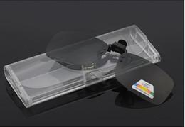 Nouveau Transparent Lunettes Box Boîte En Plastique Lunettes De Lecture Spécial PVC Étui À Lunettes Livraison gratuite HH -J13021 ? partir de fabricateur
