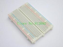 Wholesale Wholesale Breadboard - 5PCS LOT Quality 400 point mini bread board   breadboard 8.5CM x 5.5CM 400 holes for arduino
