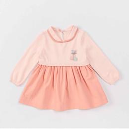 2019 rosa babykleid monate mikistory Baby Mädchen Rosa Nähte Kleid 0-36 Monate günstig rosa babykleid monate