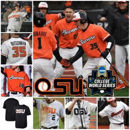 Бейсбольные штаты онлайн-Бейсбол Джерси Орегон Стэйт Биверс 6 Джо Кейси 14 Эллиот Вилли 35 Адли Рутшман 2 Кадин Гренье S-4XL