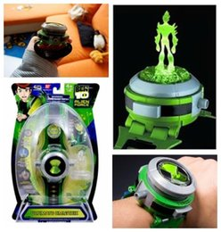Ben10 Ten Alien Force Projector Guarda l'ultimo orologio da polso giocattolo Omnitrix Anti Stress cheap forces toys da forza i giocattoli fornitori