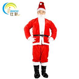 2019 modelo vestido de traje de las mujeres 2017 nueva moda de Santa Claus villi ropa de hombre de Navidad show dress up mujeres modelos trajes trajes trajes envío gratis modelo vestido de traje de las mujeres baratos