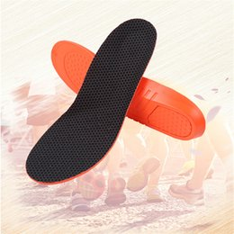 Wholesale Football Padding - Sports insoles shock padded men and women sweat insole football basketball running training insoles leisure sports insoles