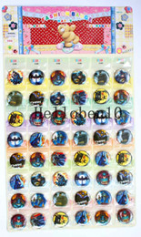 """Wholesale union pins - 48piece """"the Avengers union"""" badge. It's made up of a lot of Batman, 3cm diameter. It can be worn on the chest."""