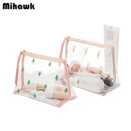 Wholesale Burgundy Products - Cute PVC Mini Cosmetic Bag Transparent Waterproof Clear Organizer Pouch Lovely Makeup Bags Beauty Accessories Supplies Product