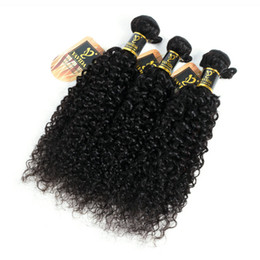 Wholesale China Hair Pieces - Fulgent Sun New Arrival curly human hair afro kinky hair extensions 3 bundles virgin human hair bundle dhgate china supplier