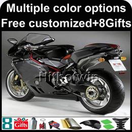 Wholesale fairing agusta - 8Gifts+Custom For MV AGUSTA Fairing Bodykit F4RR 1000 2005 2006 matte black Bodywork Kit F4 05 06 Set Fit 1000R 312 1078